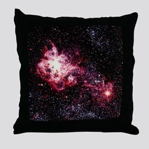 Optical view of Supernova 1987A - Throw Pillow