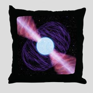Pulsar - Throw Pillow