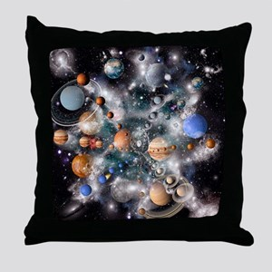 Solar system planets - Throw Pillow