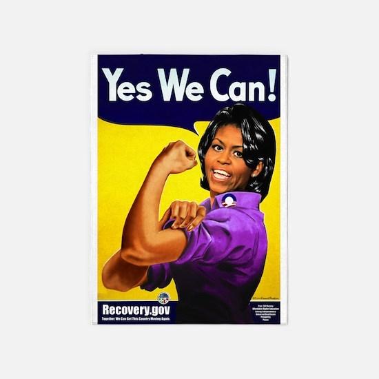 Michelle Obama 5'X7'area Rug