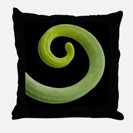 Grape tendril, SEM - Throw Pillow