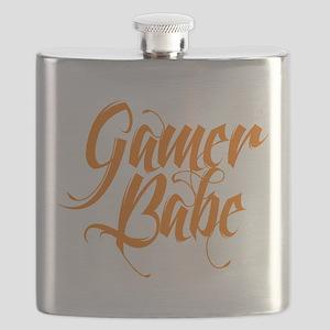 Gamer Babe Flask