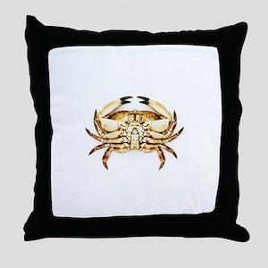 Common crab - Throw Pillow