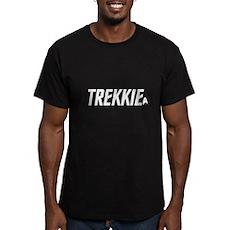 Trekkie Star Trek Men's Fitted T-Shirt (dark)