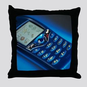 Mobile phone - Throw Pillow