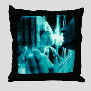Online relationship - Throw Pillow