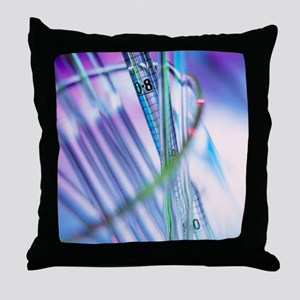 Pipettes - Throw Pillow