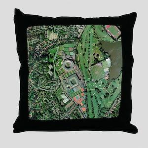 Wimbledon tennis complex, UK - Throw Pillow