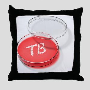 Tuberculosis bacteria in a petri dish - Throw Pill