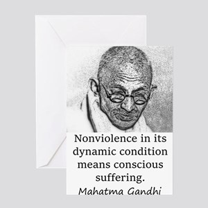 Nonviolence In Its Dynamic Condition - Mahatma Gan