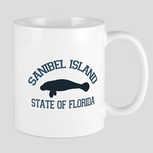 Sanibel Island - Manatee Design. Mug