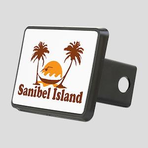 Sanibel Island - Palm Trees Design. Rectangular Hi
