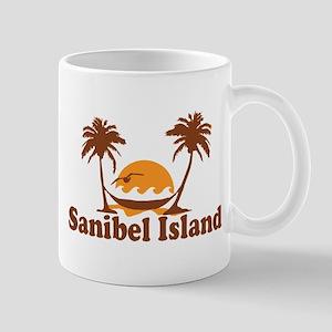Sanibel Island - Palm Trees Design. Mug