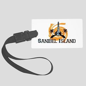 Sanibel Island - Lighthouse Design. Large Luggage