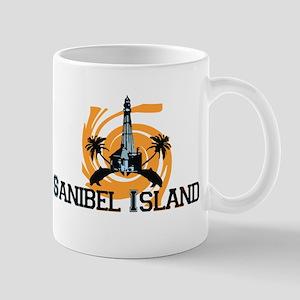 Sanibel Island - Lighthouse Design. Mug