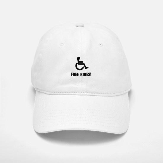 Handicap Free Rides Baseball Baseball Cap