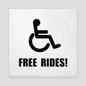 Handicap Free Rides Queen Duvet