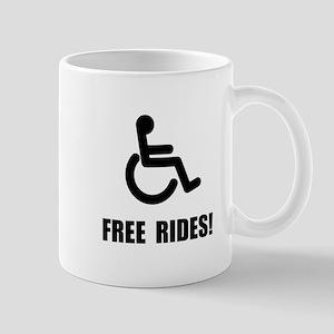 Handicap Free Rides Mug