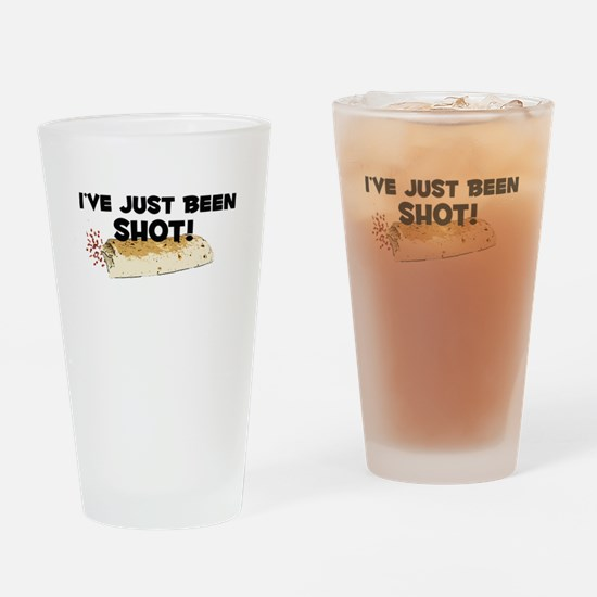 I've Just Been Shot Drinking Glass