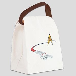 Vintage Star Trek Canvas Lunch Bag