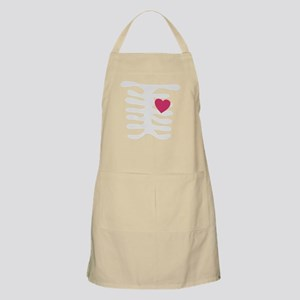 Funny Valentine Pink Heart Apron