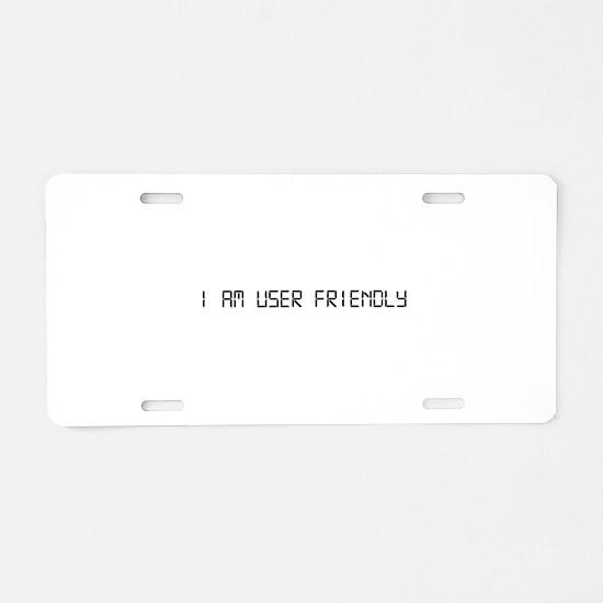 User Friendly Aluminum License Plate