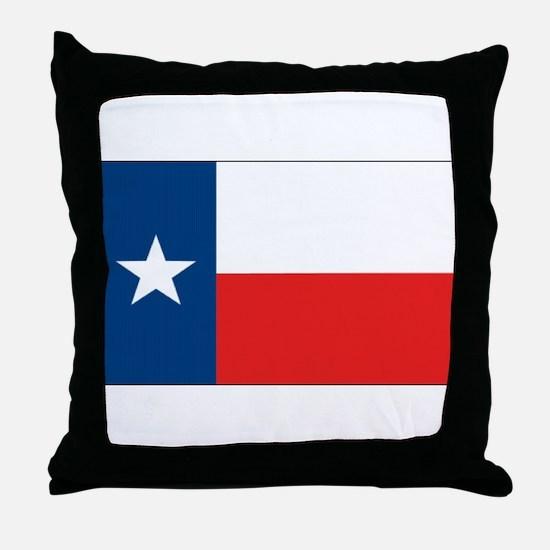 Texas Flag Throw Pillow