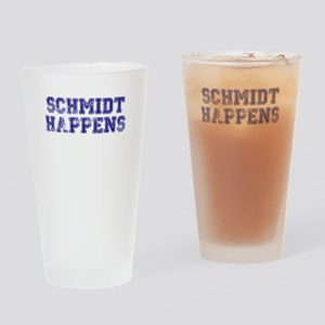 Schmidt Happens - Vintage Drinking Glass