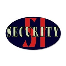 Area 51 Security Wall Decal