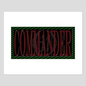Area 51 Commander Small Poster