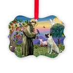 SAINT FRANCIS Picture Ornament