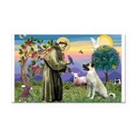 SAINT FRANCIS Rectangle Car Magnet