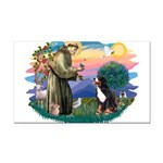 St Francis #2/ BMD Rectangle Car Magnet