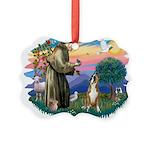 St.Francis #2/ Boxer (crop.) Picture Ornament