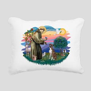 St.Francis #2/ Boxer (nat ea Rectangular Canvas Pi