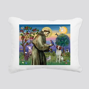 St. Fran. / Brittany Rectangular Canvas Pillow