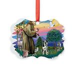 St.Francis #2/Catahoula Picture Ornament
