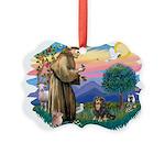 St.Francis #2/Cavalier (BT) Picture Ornament