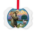 StFran./Chihuahua (LH) Picture Ornament