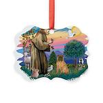 St.Francis #2/ Shar Pei (#3) Picture Ornament
