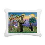 St. Francis Dobie Rectangular Canvas Pillow