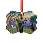 St. Francis Dobie Picture Ornament