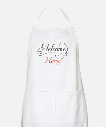 Welcome Home Apron