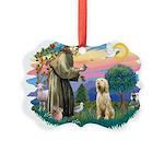 S, Fr, #2/ Italian Spinone Picture Ornament
