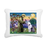 ST. FRANCIS + OES Rectangular Canvas Pillow