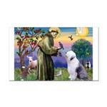 ST. FRANCIS + OES Rectangle Car Magnet