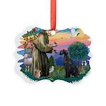 St.Francis #2/ Giant Schnauze Picture Ornament