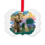 St Francis #2/ Sloughi Picture Ornament