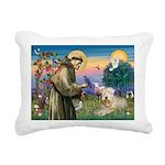 St. Fran #2 / Wheaten Terrier Rectangular Canvas P