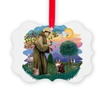 St. Fran (ff) - Maine Coon (# Picture Ornament